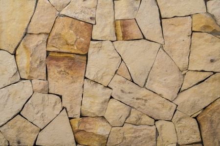 The texture and pattern of rock wall photo