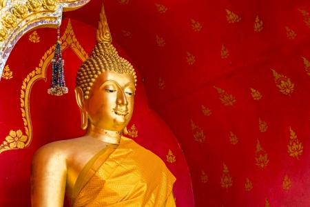 credo: The half body statue of Buddha image