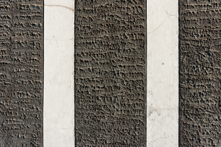 embossing: Embossing texture and white stripe of concrete wall