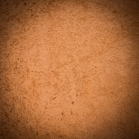 redbrick: Red-brown vintage concrete wall Stock Photo