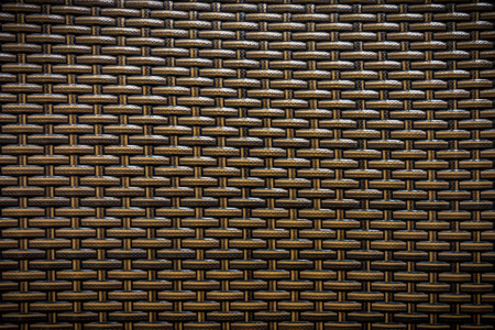 Wicker of furniture for background and texture