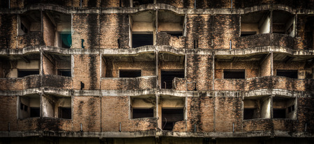 suffusion: The abandoned brick building