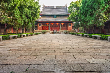 confucian: Jiangyin Temple is an old Chinese confucian temple at Jiangsu province in China