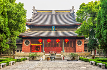 jiangsu: Jiangyin Temple is an old Chinese confucian temple at Jiangsu province in China