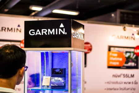 joins: BANGKOK, THAILAND - MARCH 22, 2015: Garmin Ltd. joins the Commart Thailand Editorial