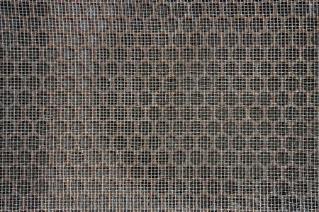 metal grate: Grunge metal grate for background and pattern
