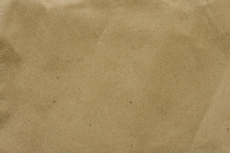 Kraft paper sheet for background and texture