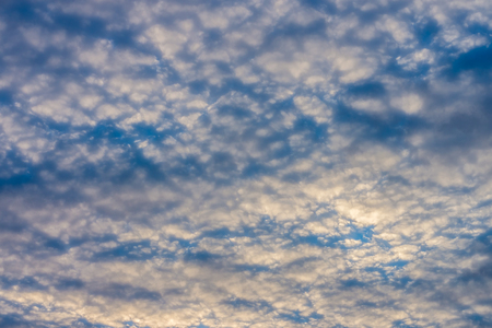 View of dramatic cloudy sky from ground. A cloud is an aerosol.