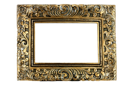 Antique picture frames Stock Photo - 17774564
