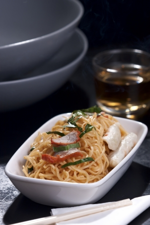 Stir-Fried Chinese Egg Noodles photo