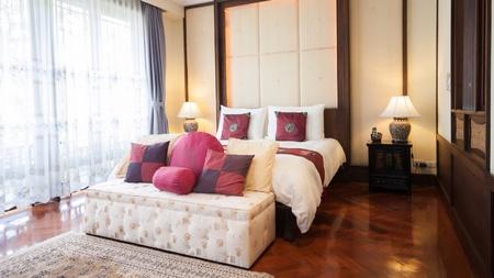 luxury hotel room: Oriental luxury hotel room