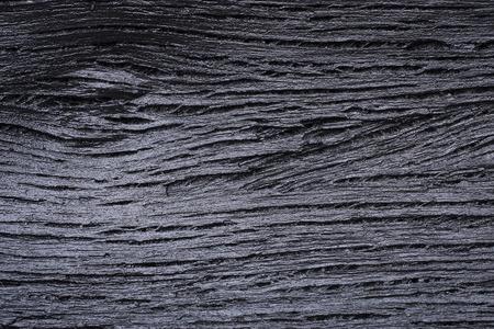 Achtergronden en de textuur van zwarte houten houtskool
