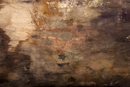 fungal: Dirty wood boards background with Fungal stains. Stock Photo