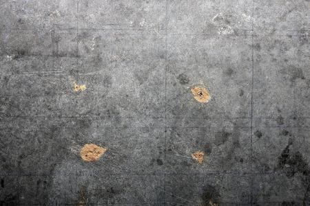 Detail textuur van cement board met een vlek. Stockfoto