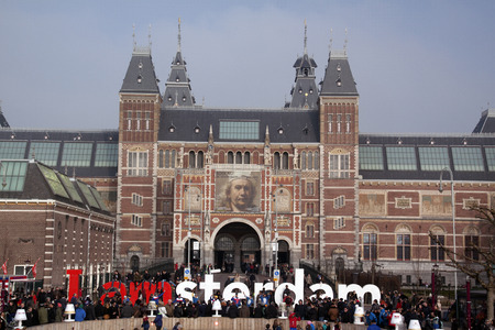 rembrandt: 15 february 2015, Amsterdam the Netherlands National museum Rijksmuseum
