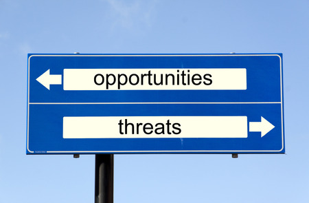 rijswijk,The Netherlands-march 10,2015:  swot analysis,opportunities and threats photo