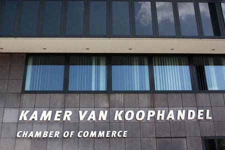 De Haguenetherlandsmay 11 2015: Kamer van Koophandel in Den Haag is een belangenorganisatie of bedrijf Stockfoto - 40484606