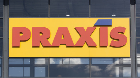 Amsterdam, Netherlands-July 21, 2015: Praxis, Praxis full Do-It-Yourself Center is a Dutch DIY chain, this store is located in Amsterdam