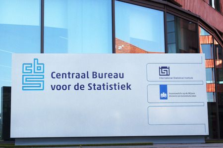 centralized: Amsterdam, Netherlands-August 7, 2015: The Central Bureau of Statistics CBS in the Netherlands is under the authority-which the collection, processing and publication of the statistics for government, science and business are centralized.