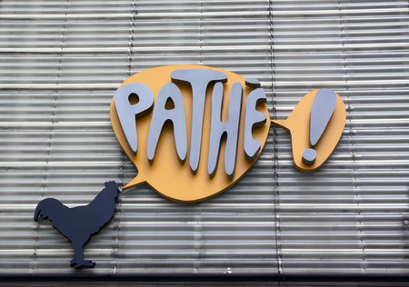 pathetic: Amsterdam, Netherlands-August 13, 2015: Path Netherlands is a chain of cinemas in the Netherlands. this one is in Rotterdam Editorial