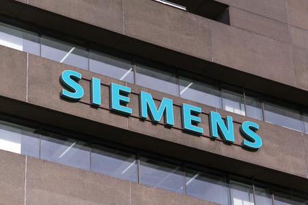 headquarter: the hague, Netherlands-september 26, 2015:  Dutch Siemens headquarter in The Hague Holland