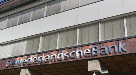 Amsterdam, Netherlands-October 10, 2015: De Nederlandsche Bank, DNB is the central bank or the Netherlands located in Amsterdam