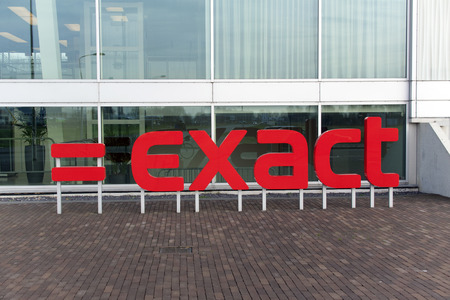 exact science: Amsterdam, Netherlands-december 17, 2015: Exact Holding B.V. is a company that develops software focused on supporting companies, especially SMEs. this office is located in amsterdam