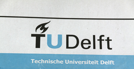 delft: Delft, Netherlands-December 17, 2015: Delft University of Technology Delft is a university in the Dutch city of Delft. Editorial