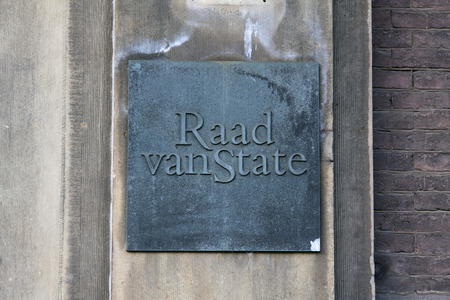 the hague, Netherlands-januari 8, 2016: Council of State in the Netherlands is an advisory body to the government and the Supreme Administrative Court of the country.