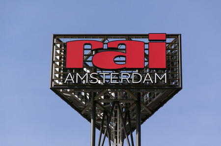 amsterdam: the hague, Netherlands-february 28, 2016:Amsterdam RAI is an events, congress and exhibition center in Amsterdam South. Editorial