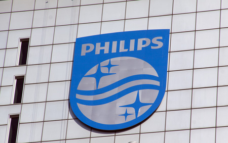 philips: Amsterdam, Netherlands-march 13, 2016: Royal Philips is a Dutch electronics company. Editorial