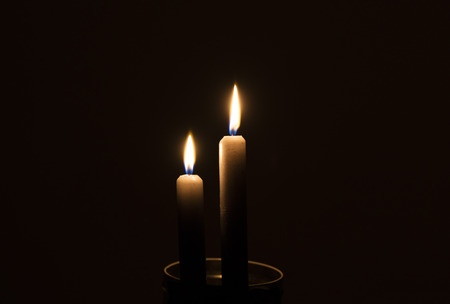 outage: Two candles in the dark