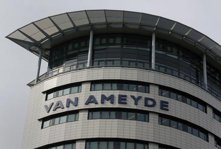 Rijswijk, Nederland-september 22, 2016: gevel van het Ameyde hoofdkantoor in Rijswijk