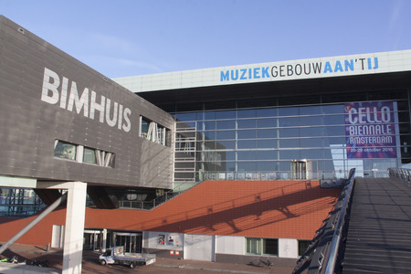 Amsterdam, Netherlands-october 31, 2016: Bimhuis music theatre in Amsterdam Editorial