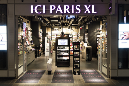 Amsterdam, Netherlands-march 11, 2017: ici paris xl store in Amsterdam