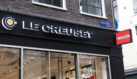 Amsterdam, Netherlands-march 5, 2017: creuset store in amsterdam Editoriali