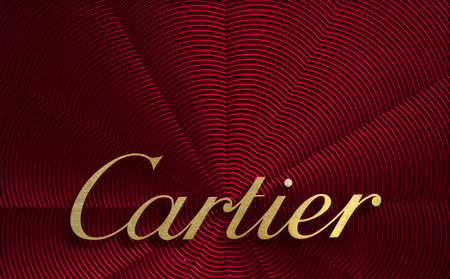 Amsterdam, Netherlands-march 5, 2017: Letters cartier on a display Editorial