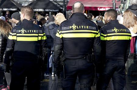 Amsterdam, Nederland, 19 november 2017: in de straten van Amsterdam