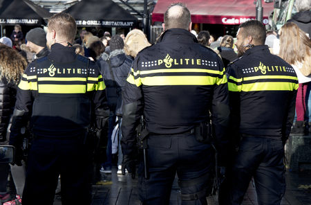 Amsterdam, The Netherlands, 19 november 2017: in the streets of Amsterdam