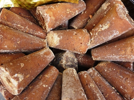 panela: Piloncillo is unrefined sugar from Mexico
