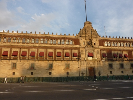 The National Palace in Mexico City