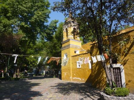 square: Santa Catarina square in Coyoacan