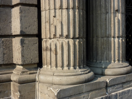 ionic: Base of Ionic or Corinthian columns