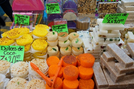 Traditional Mexican coconut candy
