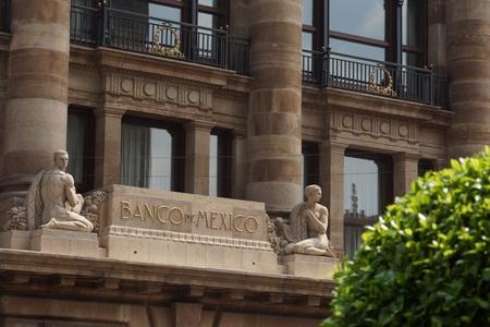 メキシコの国立銀行 写真素材