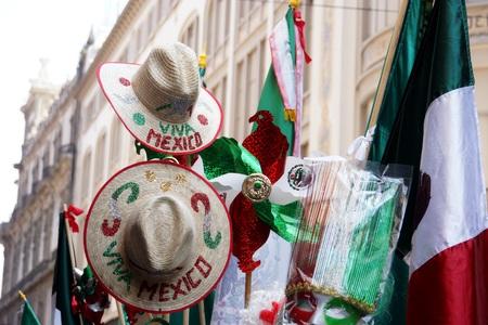 メキシコの独立記念日の装飾