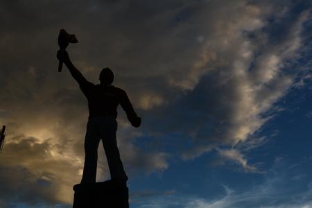 struggle: sculpture symbol of struggle 5