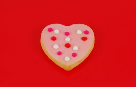 Valentines Day cookie heart