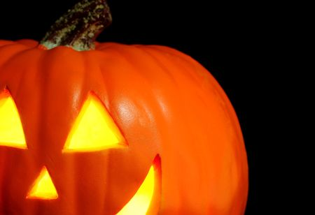 Halloween carved Jack O Lantern