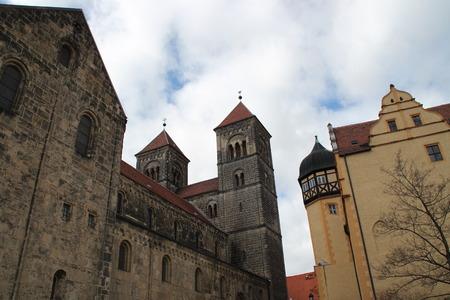 collegiate: A collegiate in Quedlinburg